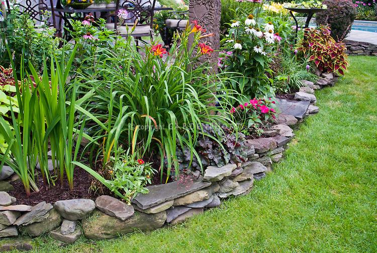 Gallery four seasons lawn charlottesville virginia - Stone and flower garden design ideas ...